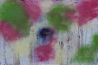 Gabriel Tiongson Fungal Growth 0 acrylic on board 120x80 cm © April 2015