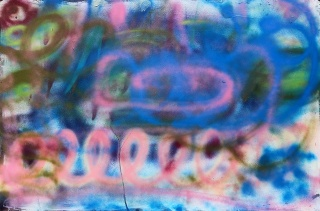 Gabriel Tiongson Starfish 2 acrylic on board 120x80 cm © April 2015