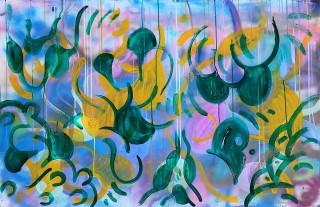 Gabriel Tiongson Starfish 4 acrylic on board 120x80 cm © April 2015