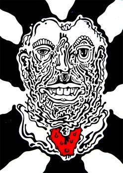 Gabriel Tiongson Adoration ink on paper © 2012