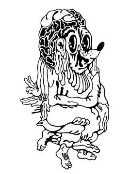 Gabriel Tiongson Alph ink on paper © 2011
