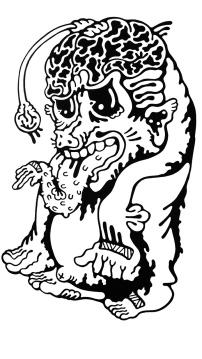Gabriel Tiongson Angler ink on paper © 2011