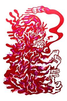 Gabriel Tiongson Anima ink on paper © 2012