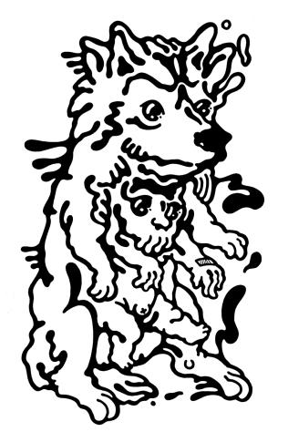 Gabriel Tiongson Ash Huang ink on paper © 2012