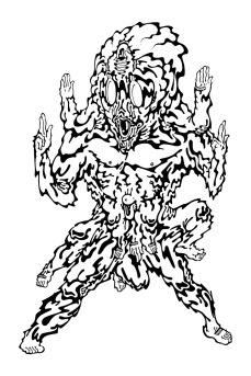 Gabriel Tiongson Battloid ink on paper © 2012