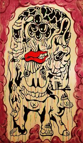 Gabriel Tiongson Brain Drain Acrylic on Canvas © 2011