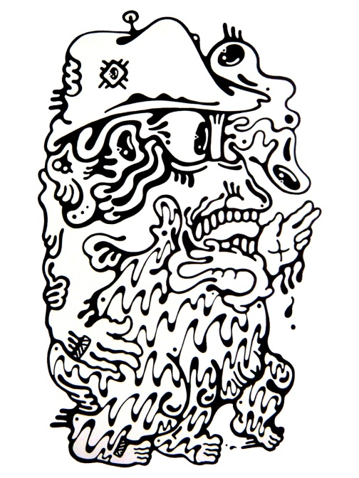 Gabriel Tiongson Carlo ink on paper © 2012