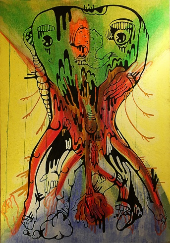 Gabriel Tiongson CSF Acrylic on Canvas © 2011