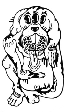 Gabriel Tiongson Dobbit ink on paper © 2011