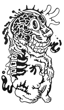 Gabriel Tiongson Dongle ink on paper © 2011