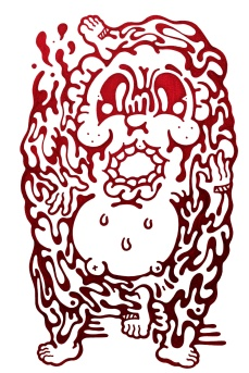 Gabriel Tiongson Donut ink on paper © 2012