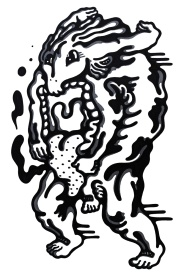 Gabriel Tiongson Gulper ink on paper © 2012