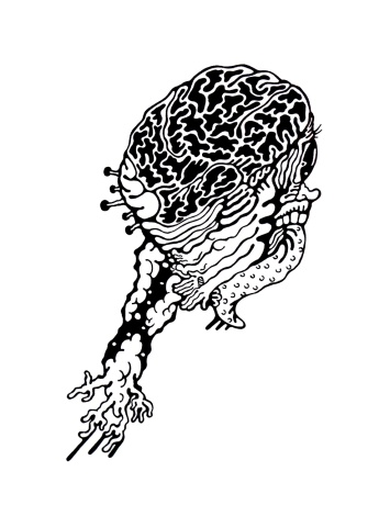 Gabriel Tiongson Jumper ink on paper © 2011