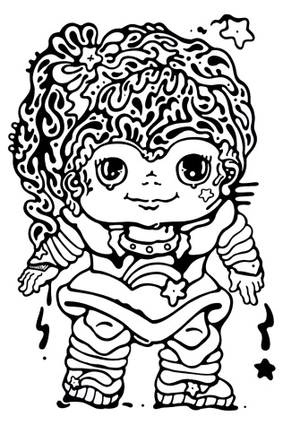 Gabriel Tiongson Mono Brite ink on paper © 2012