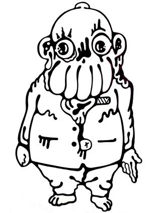 Gabriel Tiongson Oidburg ink on paper © 2011
