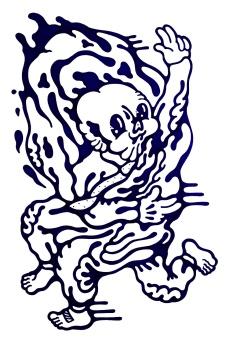 Gabriel Tiongson Opposer ink on paper © 2012