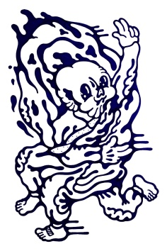 Gabriel Tiongson Opposer ink on paper © 2012