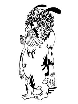 Gabriel Tiongson Ralph ink on paper © 2011