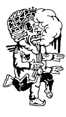 Gabriel Tiongson Selfish ink on paper © 2011
