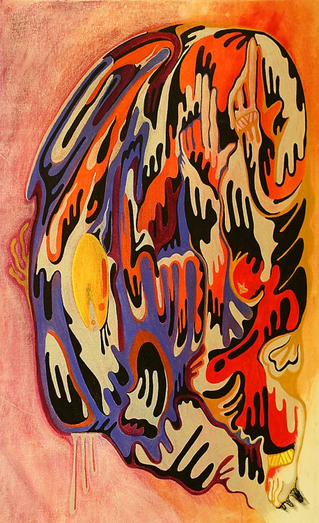Gabriel Tiongson Ultra Acrylic on Canvas © 2011