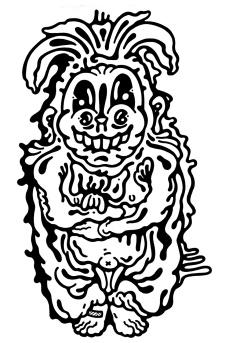 Gabriel Tiongson Veggie ink on paper © 2012