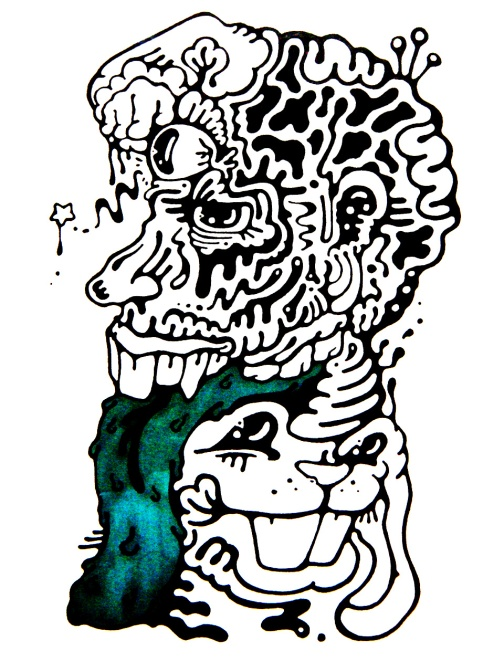 Gabriel Tiongson Why So Serious ink on paper © 2012