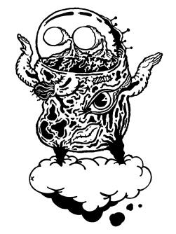 Gabriel Tiongson Cloud 9 ink on paper © 2010