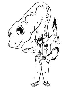 Gabriel Tiongson Diplu ink on paper © 2010