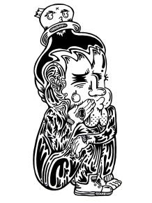 Gabriel Tiongson DOH ink on paper © 2010