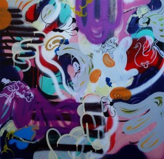 Gabriel Tiongson Mark I. Ngs I 13 acrylic on canvas 150x150 cm © November 2015