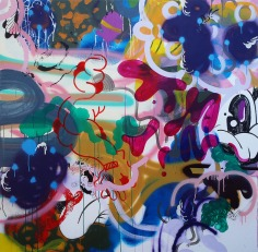 Gabriel Tiongson Mark I. Ngs II 12 acrylic on canvas 150x150 cm © November 2015